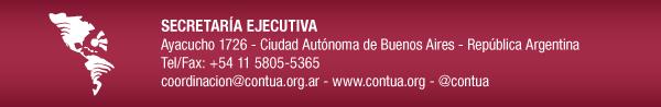 Contacto: coordinacion@contua.org - www.contua.org - @contua